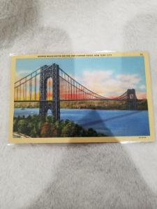 Antique Postcard, Riverside Drive and Henry Hudson Parkway, New York City