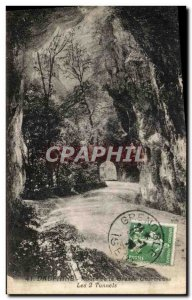 Old Postcard Dauphine Route Grande Chartreuse Tunnels