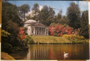 England Stourhead Mere Wiltshire Portico Pantheon - posted 1971