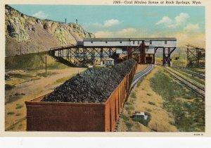 Coal Mining Scene , ROCK SPRINGS , Wyoming , 1910s