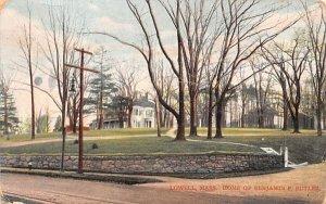 Home of Benjamin F. ButlerLowell, Massachusetts