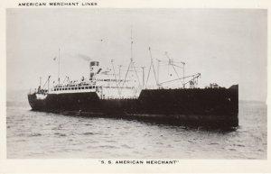 S.S. American Merchant , American Merchant Lines , 1940s