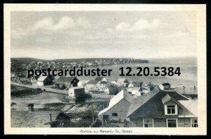 5384 - RIVIERE AU RENARD Quebec Postcard 1930s Panoramic View