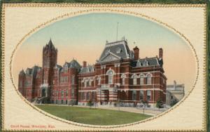 WINNIPEG , Manitoba , 1910 ; Court House #4