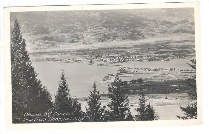 RP, View From Anarchist Mountain, Osoyoos, British Columbia, Canada, 1920-1940s