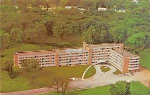 Cedar Rapids Iowa~Meth-Wick Manor Nursing Home~Methodist Retirement~Aerial~1960s