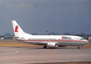 Berlin European U.K Boeing 737-3L9 GEURR at Berlin Tegel