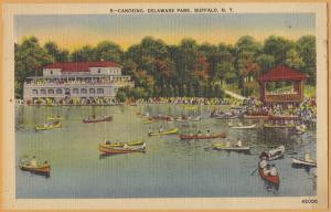 Buffalo, N.Y., Canoeing, Delaware Park -