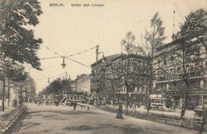 BERLIN, Germany, 1900-10s ; Unter Den Linden