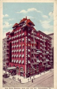 NEW HOTEL HANOVER ARCH & 12th STS PHILADELPHIA, PA 1920