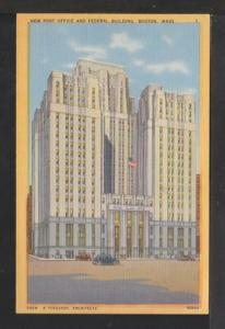 New Post Office,Federal Building,Boston,MA Postcard