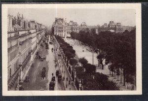 Rue de Rivoli et Jardin des Tuileries,Paris,France BIN