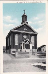 HAMBURG, Pennsylvania, 1910-1920s; St. Mary's R. C. Church