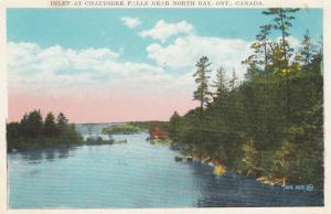 NORTH BAY , Ontario , Canada , 1910-30s ; Inlet at Chaudiere Falls