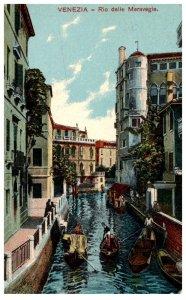 Italy, Venezia,Rio delle Meravgie