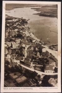 Mint Germany RPPC Postcard Kappeln View In Schleswig From Zeppelin airship