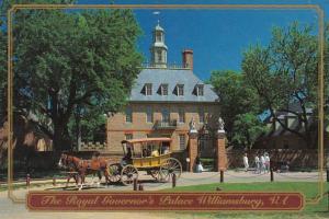 Virginia Williamsburg The Royal Governor's Palace 1995