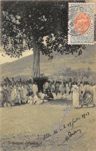 Ethiopia Tribunal ethiopien, natives 1903