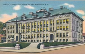 Central Classical High School Building - Manchester NH, New Hampshire - Linen
