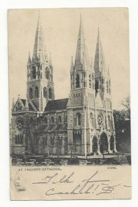 CORK, Ireland, PU-1904; St. Finbarr's Cathedral