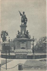 Monumento a Colon , Mexico City  , 20-40s