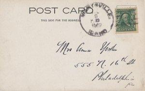 MARYSVILLE Idaho - 1907 postmark on VIEW of Mammoth Hot Springs YELLOWSTONE