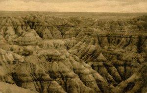 SD - Badlands National Monument. Big Foot Pass