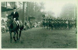 Hippique Sports Horses Contest RPPC Postcard Lot of 5 -   01.17