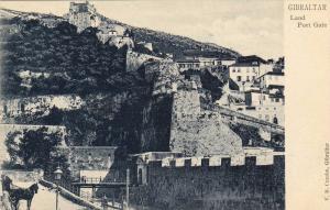 Land, Port Gate, Gibraltar, 1900-1910s