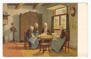 Women doing needle point Im hollandischen Waisenhaus, 00-10s netherlands