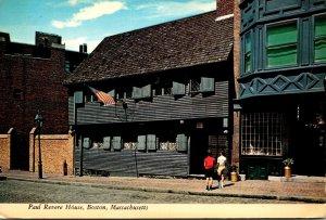 Massachusetts Boston Paul Revere House 1971