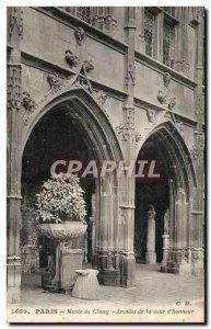 Paris - 5 - Musee de Cluny - Old Postcard