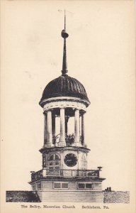 The Belfry Moravian Church Bethlehem Pennsylvania Albertype