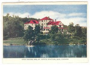 Gray Rocks Inn, St. Jovite Station, Quebec, Canada,  PU-1910