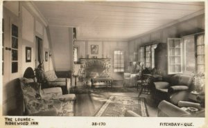 RP: FITCHBAY , Quebec , 1941 ; The Lounge , Ridgewood Inn