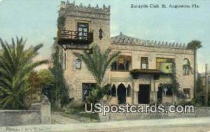 Zorayda Club St Augustine FL Unused