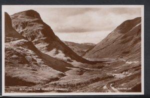 Scotland Postcard - Glencoe - The Glen of Weeping  DC1722