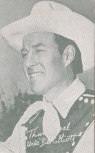 Vintage Arcade Card Cowboy Wild Bill Elliott