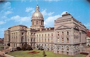Indiana State Capitol Building Indianapolis, Indiana, USA Unused
