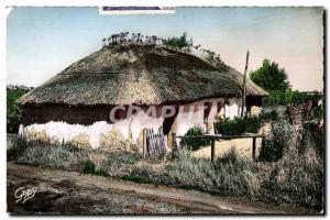 Old Postcard Saint Jean de Monts (Vendee) A Bourine