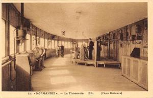 SS Normandie - La Timonerie BR. (Photo Desboutin) Ship