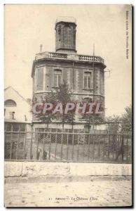Old Postcard Chateau d & # 39eau Amiens