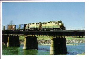Reading Railroad System, Allentown, Pennsylvania, Train on Bridge