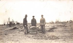 Real Photo Postcard~Treasure Chest~Ansden~Geo Riggs & Troy~Surround Trunk~c1918