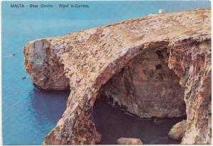 MALTA, Blue Grotto, unused Postcard