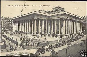 france, PARIS, Bourse, Stock Exchange, Cars (1920s)