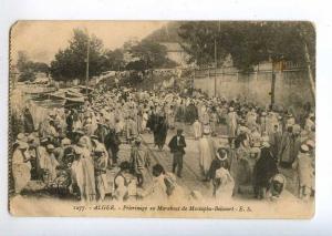 214097 ALGER Pilgrimage to Marabout Mustapha Belcourt Vintage