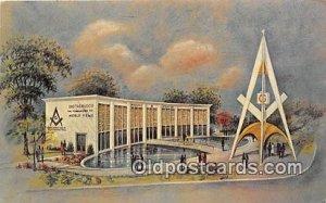 Masonic Brotherhood Center New York, USA Postal Used Unknown