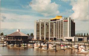 Hyatt House Vancouver Airport BC British Columbia c1976 Vintage Postcard D41