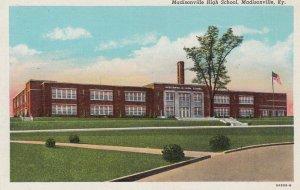 MADISONVILLE, Kentucky, 1930-40s; High School